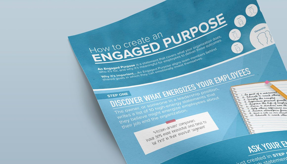 EM How To Create An Engaged Purpose Infographic