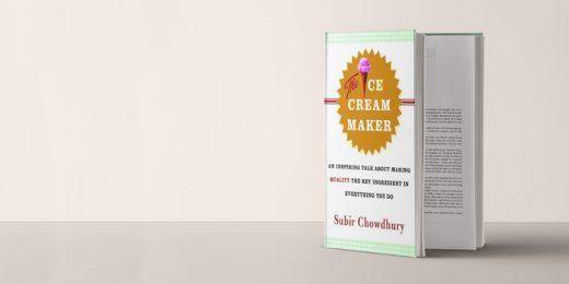 Book Club: The Ice Cream Maker by Subir Chowdhury