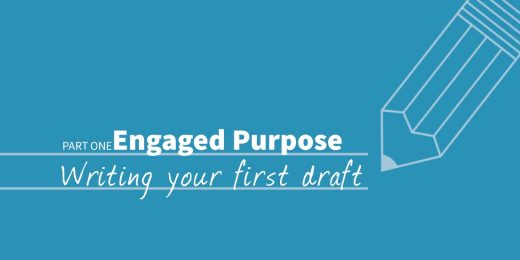 Engaged Purpose: Step-by-Step to Your First Draft (worksheet included!)