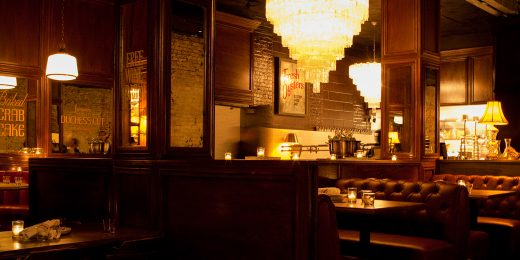 Engaged Moments: Off the Menu at Bavettes, Chicago