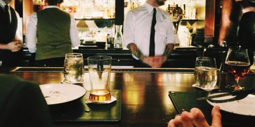 Engaging Moments: The Unofficial Bartender