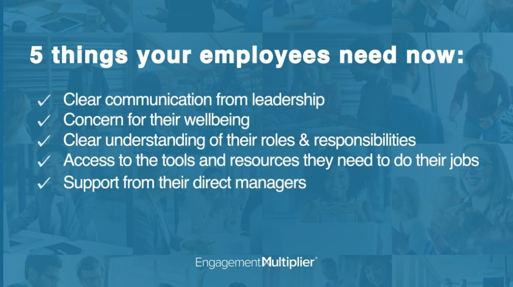 5 components of employee engagement